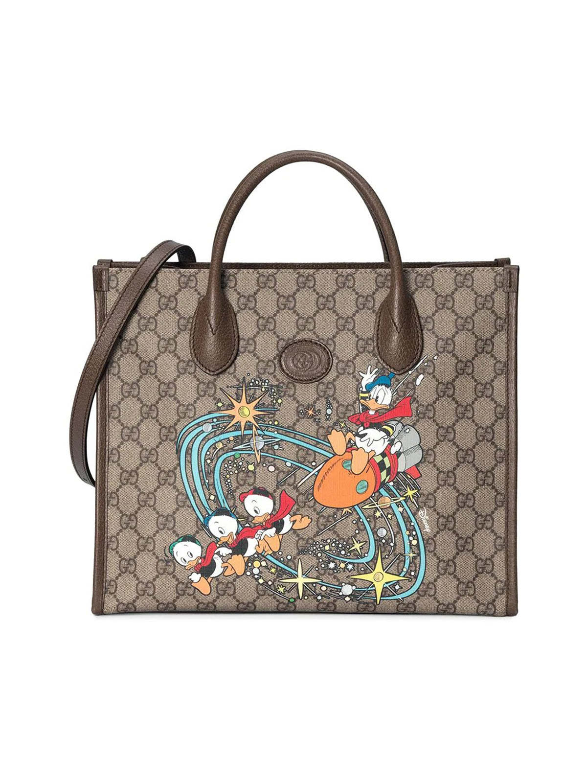 Borsa tote Donald Duck Gucci X Disney