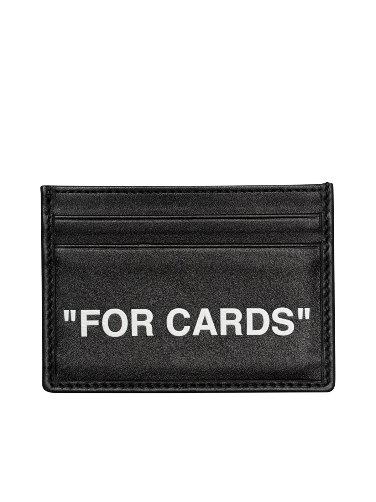 "PORTA CARTE DI CREDITO ""FOR CARDS"" IN PELLE"