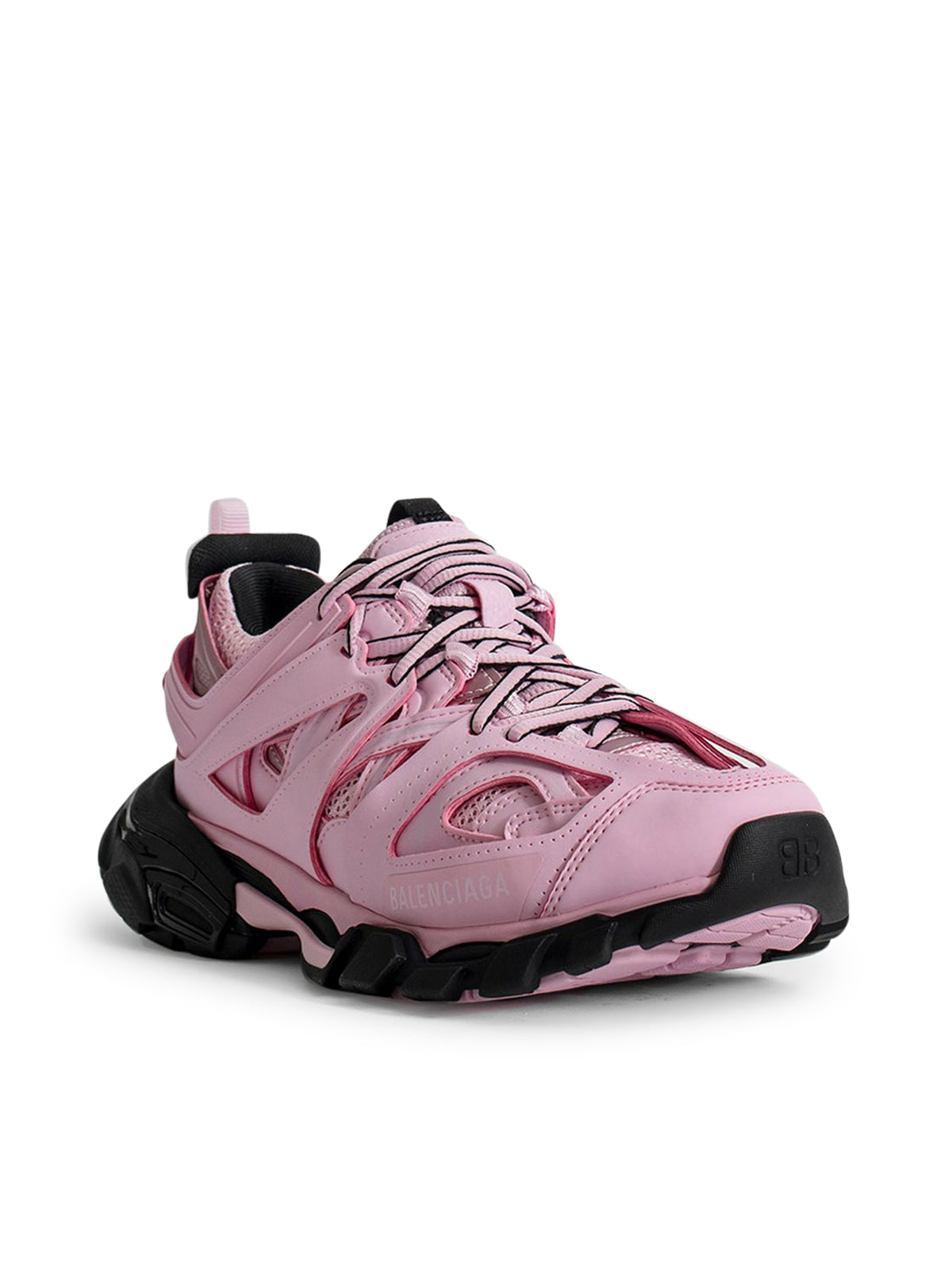 sneakers track rosa