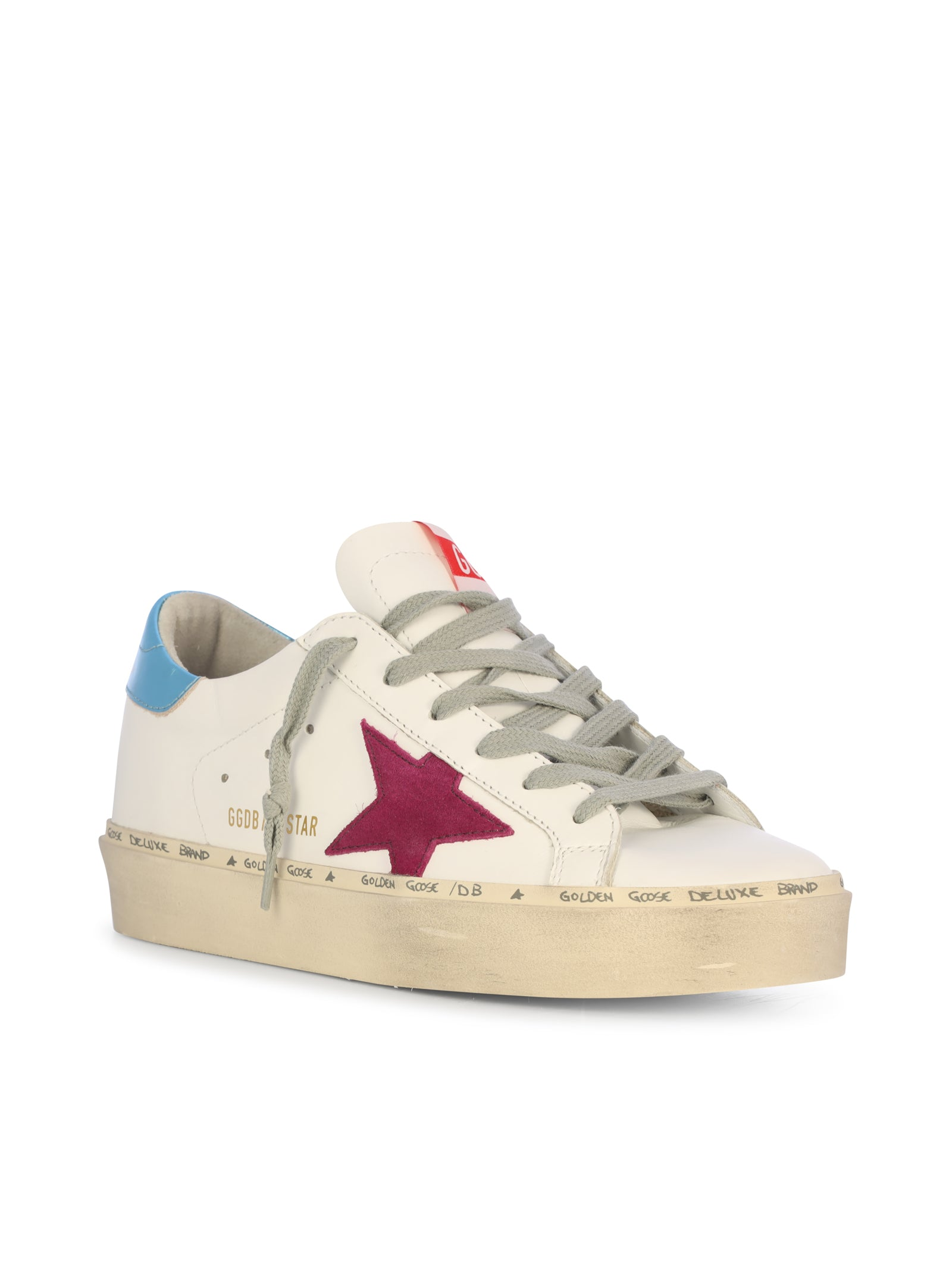 SNEAKERS HI STAR IN PELLE
