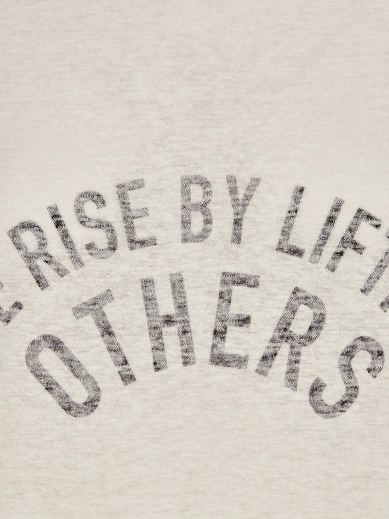 "T-SHIRT ""WE RISE BY LIFTING OTHERS"""