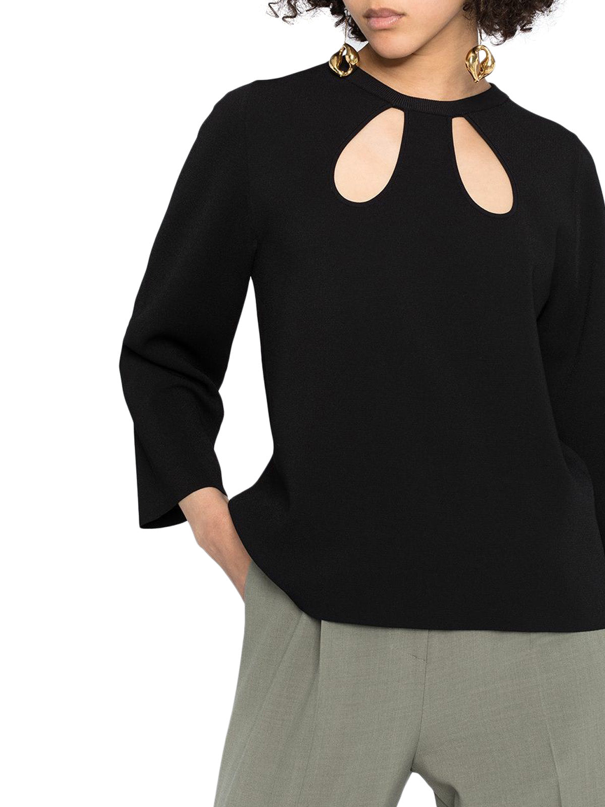 Blusa con cut-out
