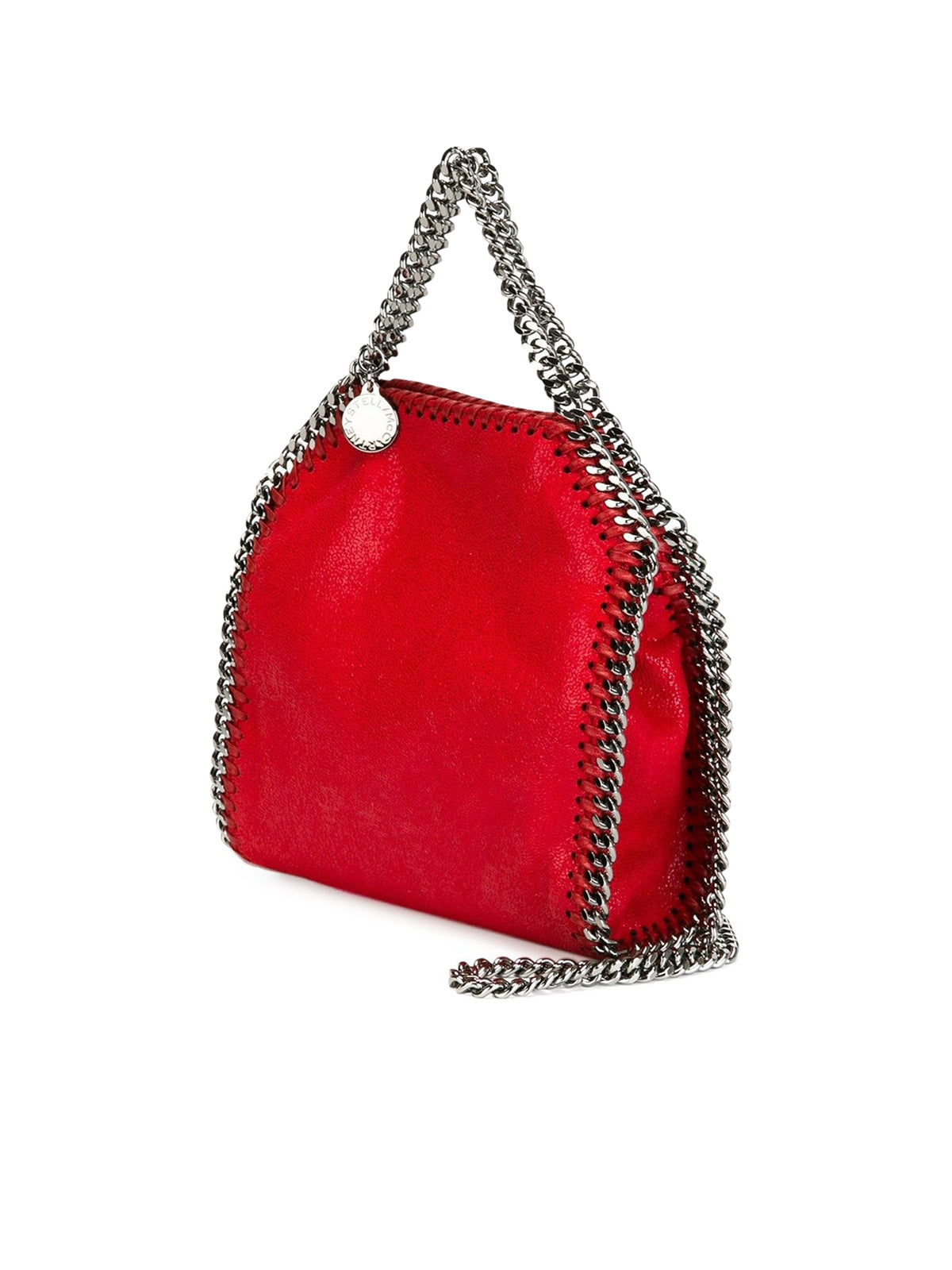 MINI BORSA FALABELLA IN ECOPELLE CON 3 CATENE