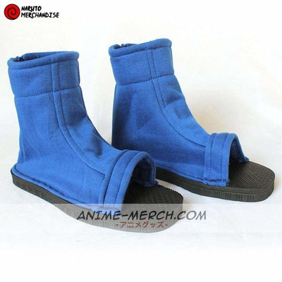 Blue Naruto Cosplay Shoes