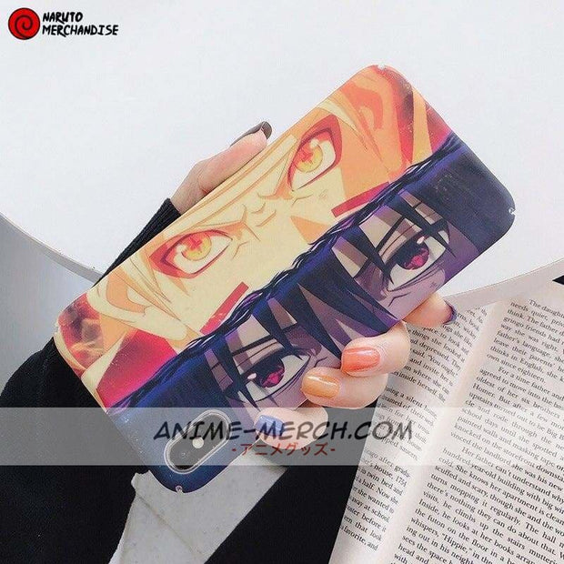 Naruto Sasuke Rivals Phone Case