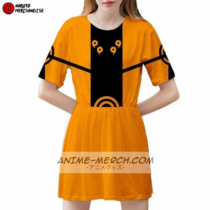 naruto dress naruto kyubi chakra mode