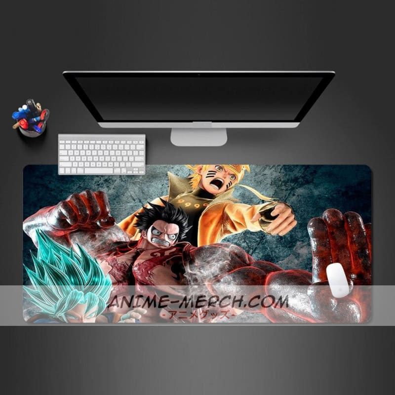 naruto and super dragon ball collection best selling overbearing mouse pad high quality rubber large lock notebook computer mats