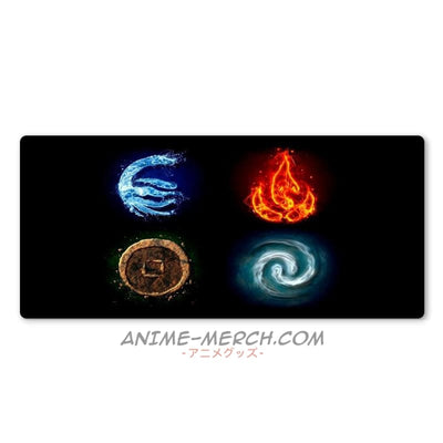 Anime Mouse Pad <br>Jutsu Elements