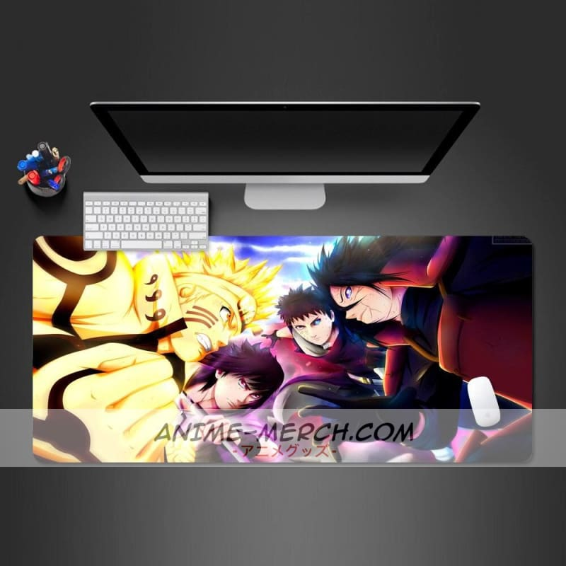 naruto fight handsomely mouse pad gamer higt quality gaming mousepad fashion computer keyboard desk mat large play mats