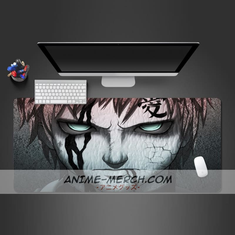 naruto animation lock side mousepad computer notebook office keyboard pad desk pad creative computer gamer mouse pad gel mats