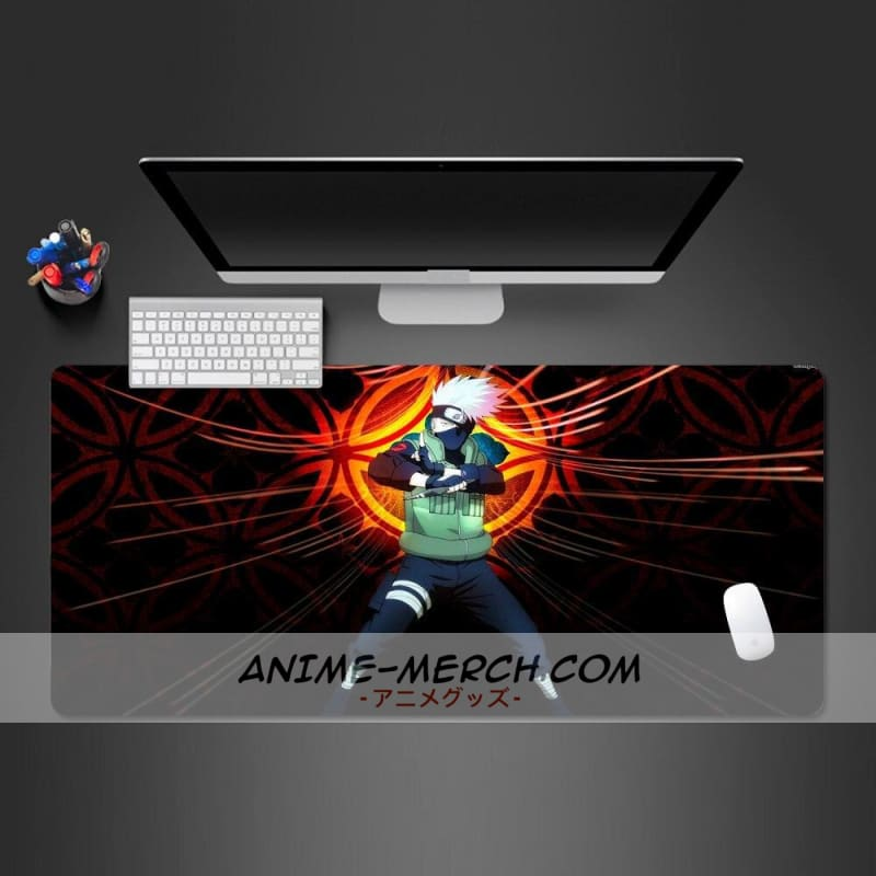 best hot naruto anime mouse pad lock side gamer computer keyboard professional mouse mat pc gaming kakashi anime mause pad