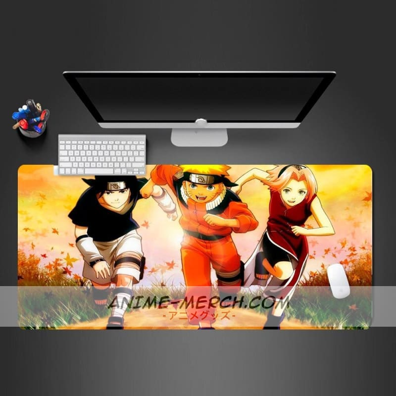 best selling naruto anime mouse pad high quality locking edge gaming mouse pad anime mousepad mat speed version mause pad
