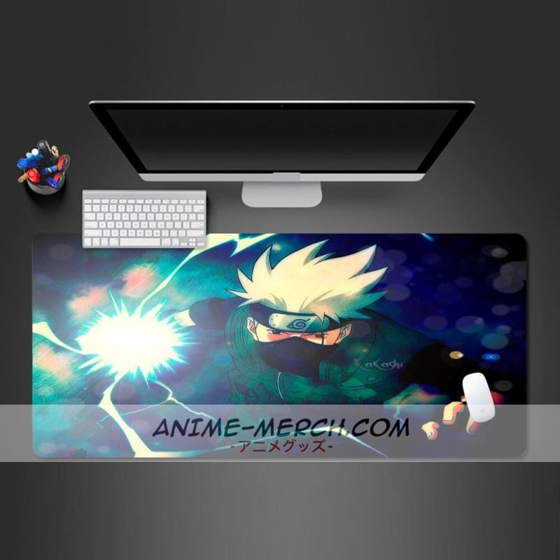 kakashi naruto anime mouse pad lock side gamer computer keyboard professional mouse mat pc gaming computer best selling pad