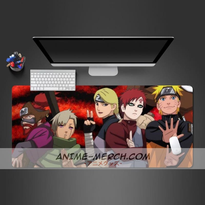 modern naruto anime game player large mouse pad high quality mouse pad computer player keyboard mouse pad office desk pad