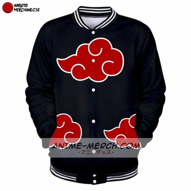 Akatsuki clan baseball jacket
