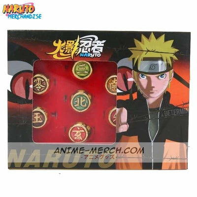akatsuki ring set 10pcs limited gold edition