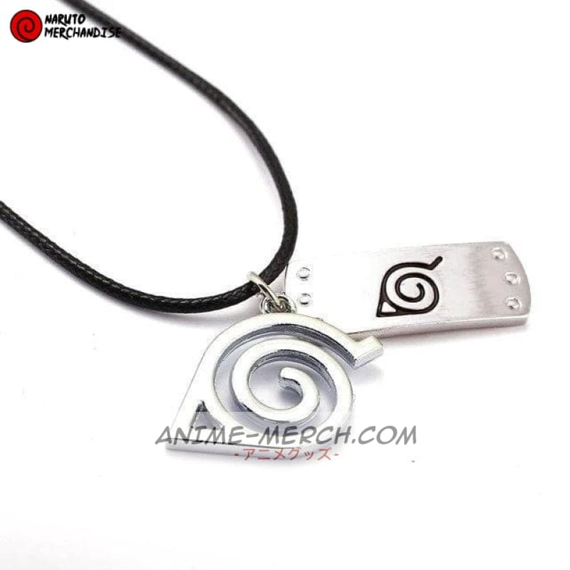 Hidden leaf necklace