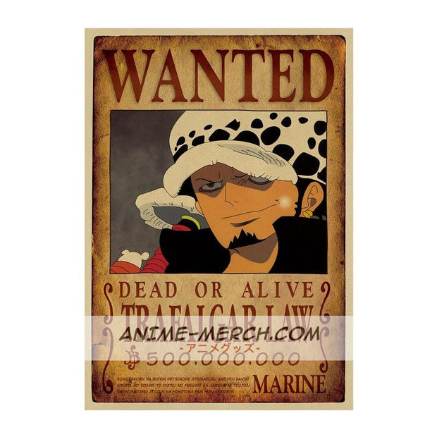 Law Wanted Poster