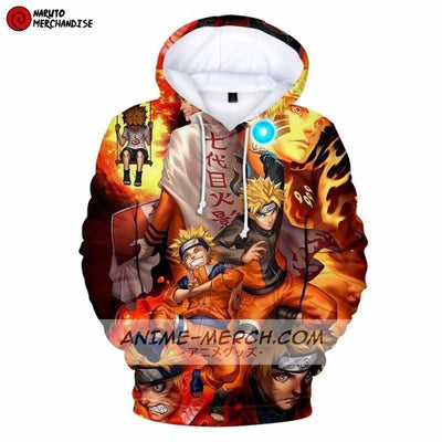 Naruto All Forms Hoodie