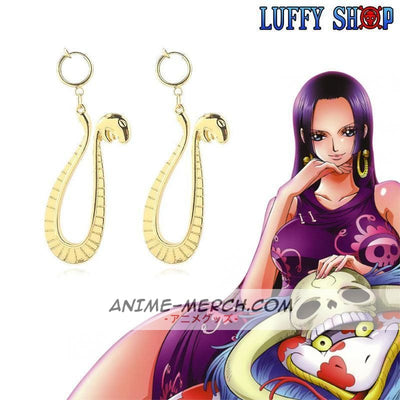 One Piece Boa Hancock Earrings