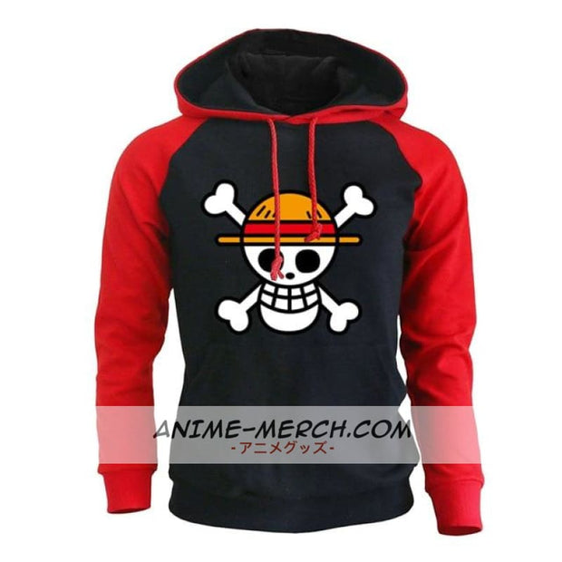 One Piece Red Hoodie