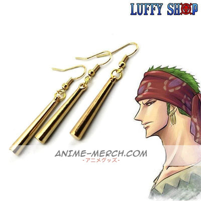 One Piece Roronoa Zoro Earrings