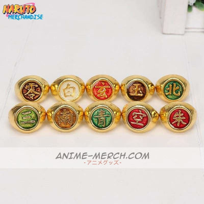 Akatsuki Ring Set<br> (Limited Gold Edition) - Ring
