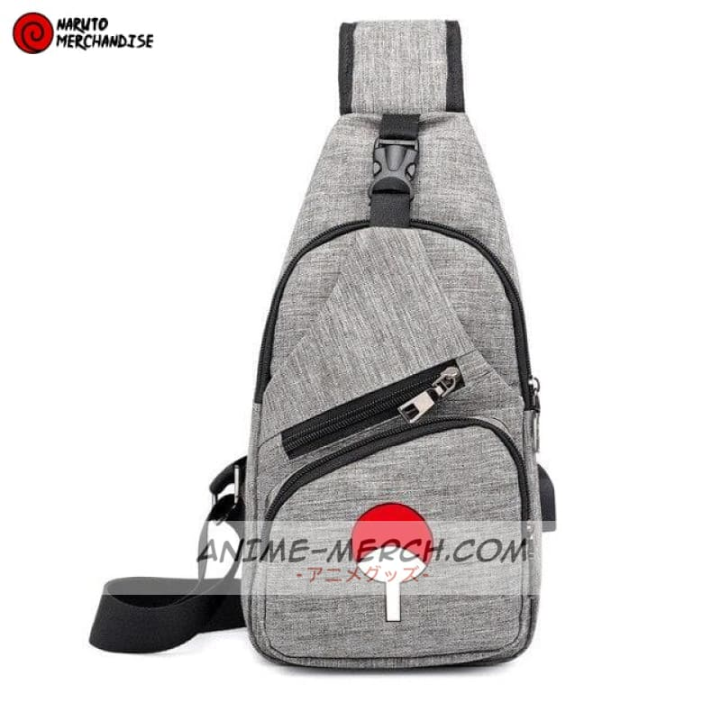 naruto messenger bag uchiha clan shoulder bag