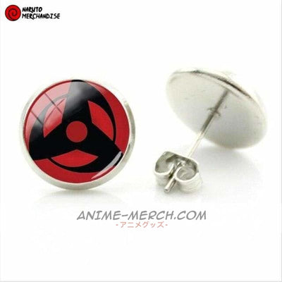 Obito Uchiha Mangekyou Sharingan Earrings