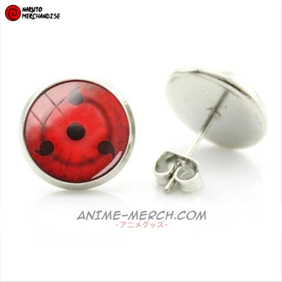 3 Tomoe Sharingan Earrings