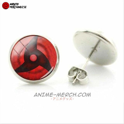 Itachi Uchiha Mangekyou Sharingan Earrings