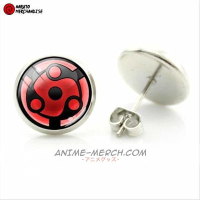 Madara Uchiha Eternal Mangekyou Sharingan Earrings