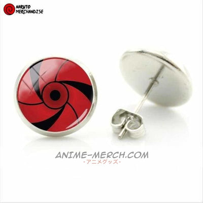 Rai Uchiha Mangekyou Sharingan Earrings