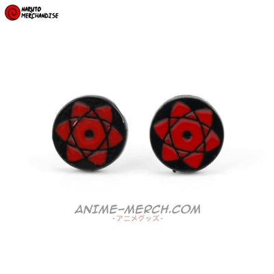 Sasuke Sharingan Earrings