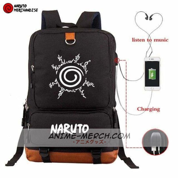 Naruto Seal Mark Backpack