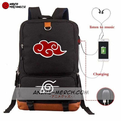 naruto backpack akatsuki symbol