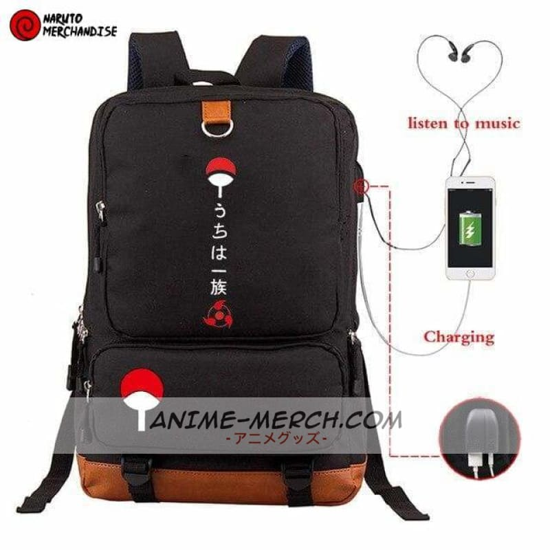 naruto backpack uchiha clan
