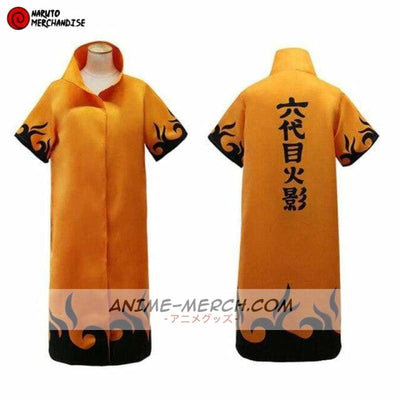Anime Cloak <br>Fourth Hokage (Orange)