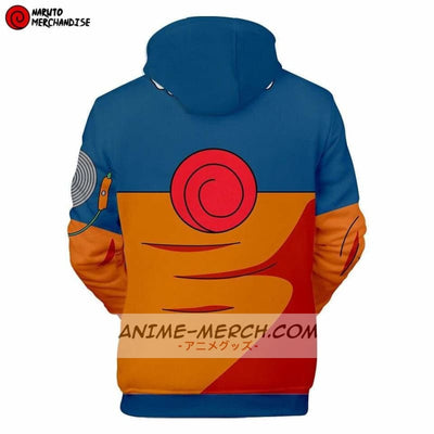 Anime Hoodie <br>Naruto Uzumaki Jacket (First Generation)