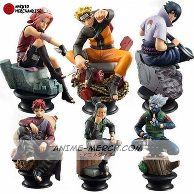 figurines naruto pack 1