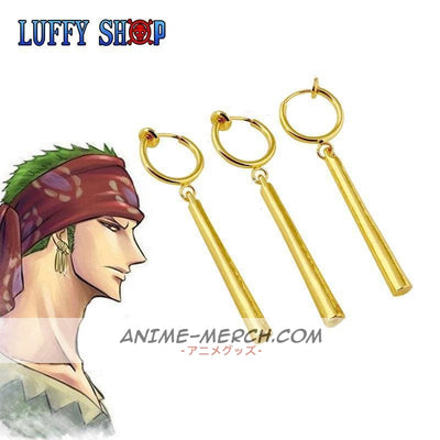 Zoro One Piece Earrings