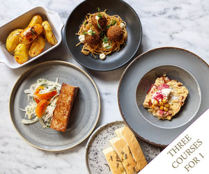 Cannonball House April Menu for 1