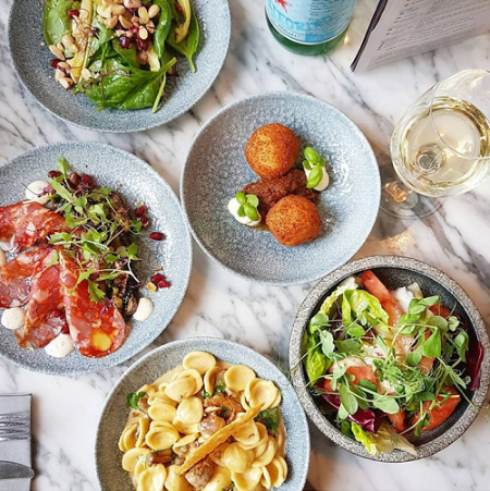 Best of Contini with a bottle of Prosecco at Contini George Street
