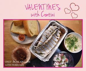 The Contini George Street Valentine's Menu For 1