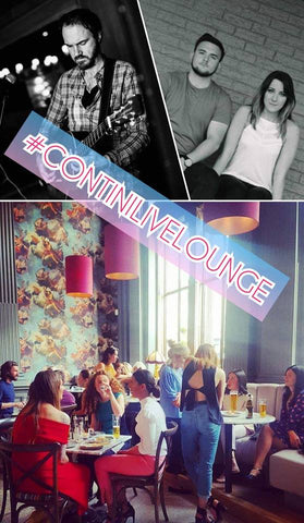 Contini Live Lounge - Edinburgh Fringe at Contini George Street