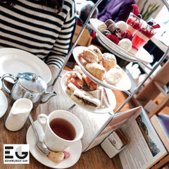 Edinburgh Gin Afternoon Tea - Edinburgh Fringe at The Scottish Cafe