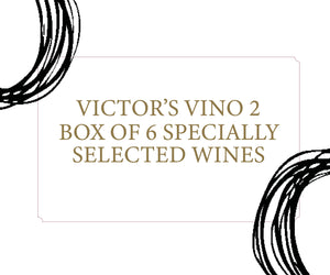 Victor's Vino 2 - Box of 6 specially selected wines