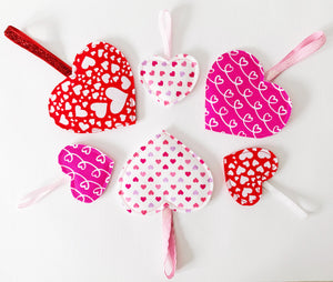 Valentine Hearts Decorations
