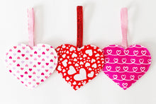 Load image into Gallery viewer, Valentine Hearts Decorations