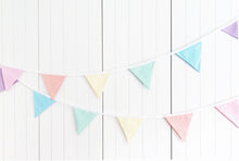 Load image into Gallery viewer, Sew Your Own Bunting Kit - Rainbow Candy Stripe